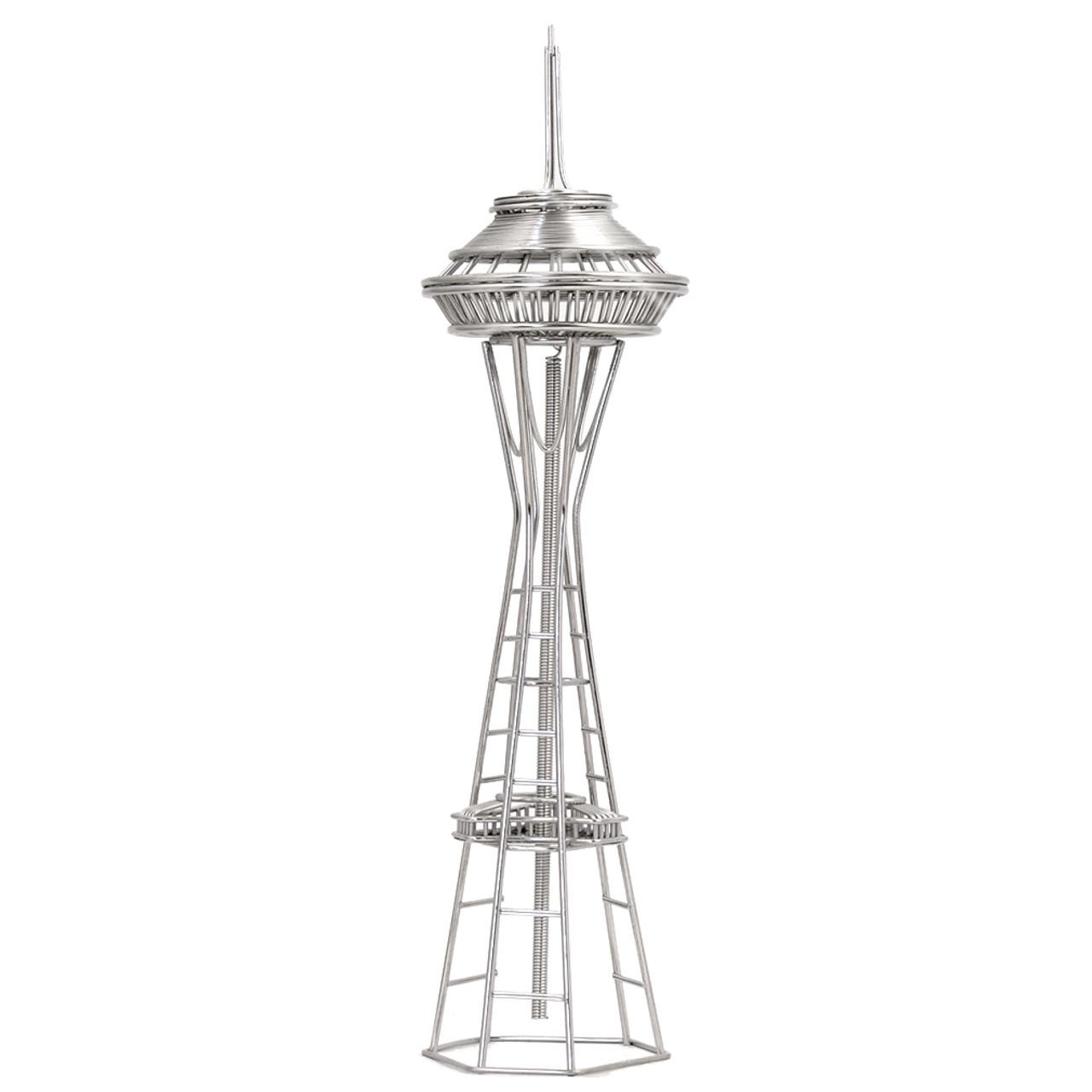 seattle u0026 39 s space needle wire model