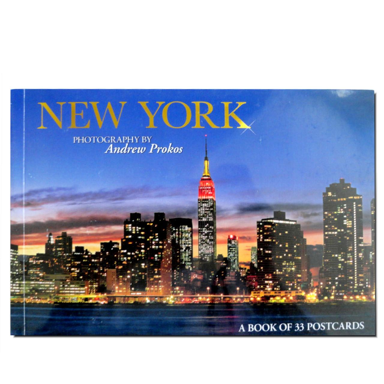 Nyc Postcard Booklet 33 Postcards