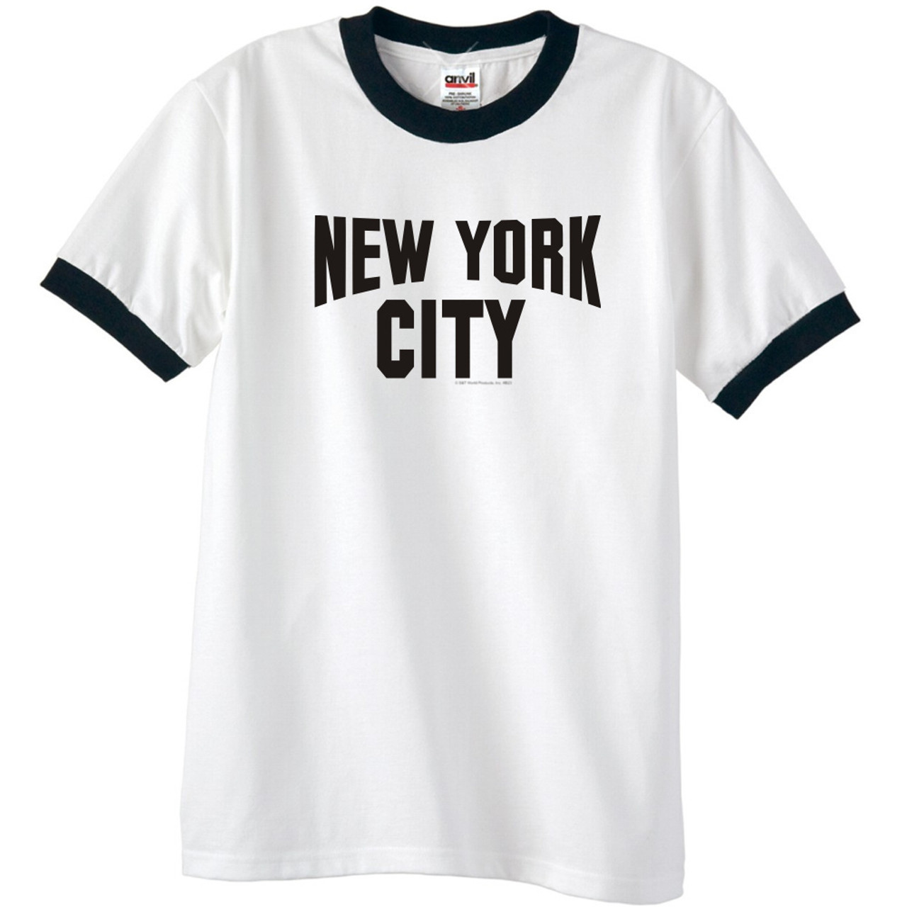 New York City Ringer T Shirt John Lennon