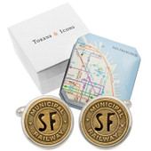 San Francisco Railway Token Cufflinks