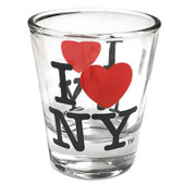 I Love NY Shot Glass