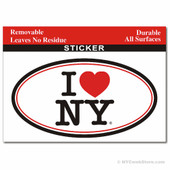 I Love NY Sticker