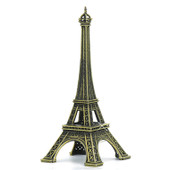 5 Inch Eiffel Tower Statue Metal