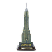 "7"" Chrysler Building w/ Wood Base"