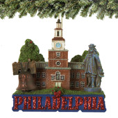 Philadelphia Landmarks Christmas Ornaments