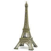 19 Inch Bronze Eiffel Tower Statue Paris Home Decor