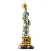 Statue of Liberty Ornament - Glass