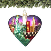 Big Apple Christmas Ornament