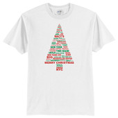 New York City Landmarks Christmas T-Shirt