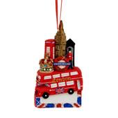 London Landmarks Ornament for Personalization