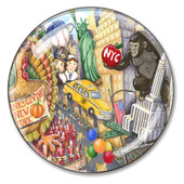 Thanksgiving Day Parade Paperweight