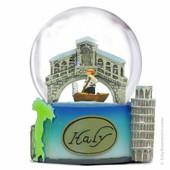 Italy Snow Globe