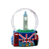 Colorful London Snow Globe