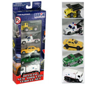 Official New York City Vehicle Set