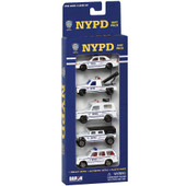NYPD Toy Cars