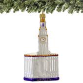 Chicago's Wrigley Building Christmas Ornaments, Glass