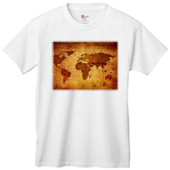 Antique World Map Apparel