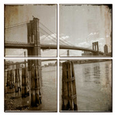 Brooklyn Bridge Coaster Set