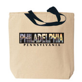 Philadelphia Photo Canvas Tote Bag