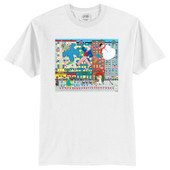 NYC Holiday Parade Art Scene Youth T-Shirt