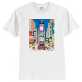 Times Square Art Scene Youth T-Shirt