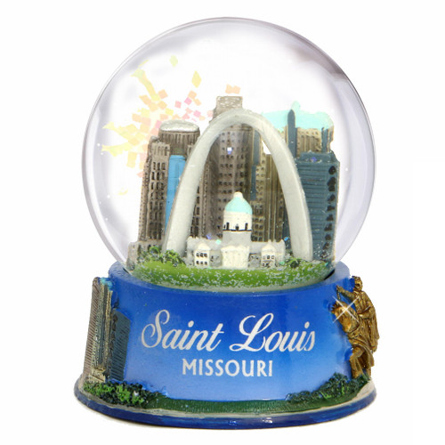 St. Louis, Missouri Snow Globe