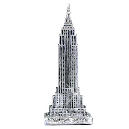 Pewter Empire State Building Statue 6 Inches