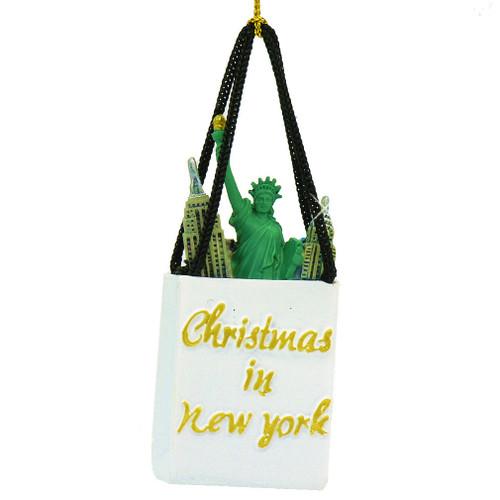 New York Shopping Bag Ornament