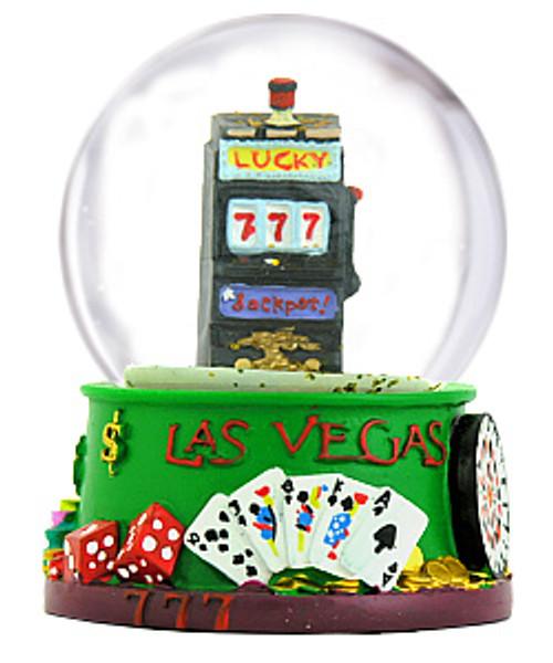 Las Vegas Snow Globe