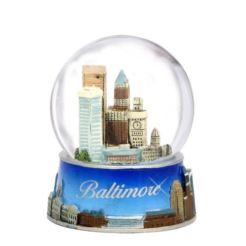 Baltimore Snow Globe