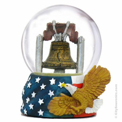 Liberty Bell Snow Globe 65mm