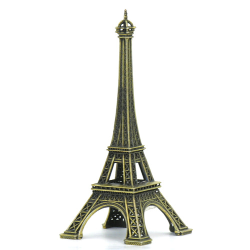 eiffel tower statue, made in France