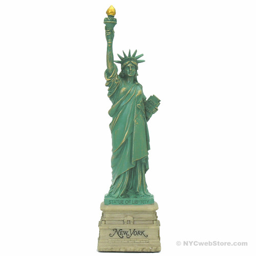 Statue of Liberty Statue New York Base 15 Inch