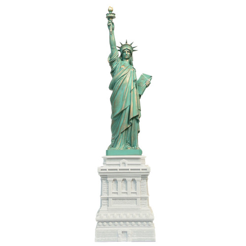15 Inch Statue of Liberty Marble Statue