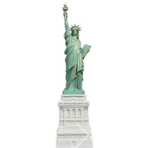 31 Inch Statue of Liberty Marble Statue