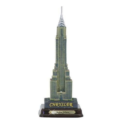 "7"" Chrysler Building w/ Wood Base"