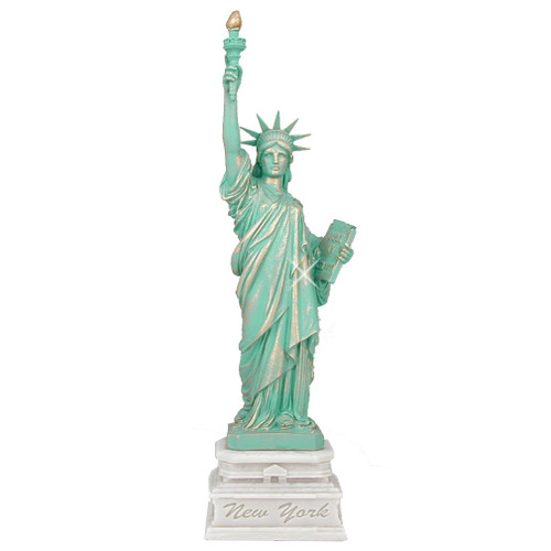 24 Inch Statue of Liberty Marble Statue