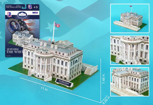 The White House 3D Puzzle