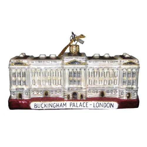 Polonaise Buckingham Palace Glass Ornament