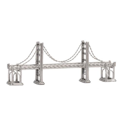 Golden Gate Bridge statue model
