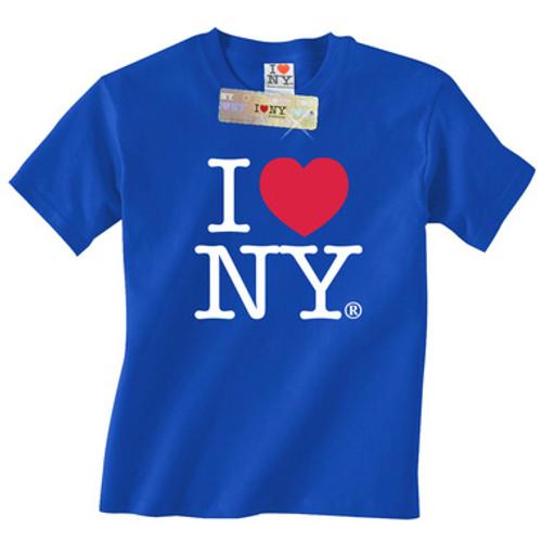 Royal Blue I Love NY T-Shirt