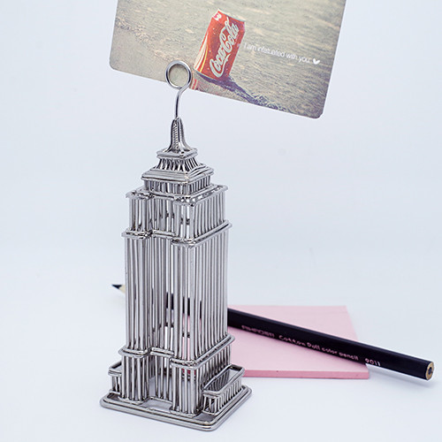 Empire State Building Metal Photo and Memo Clip