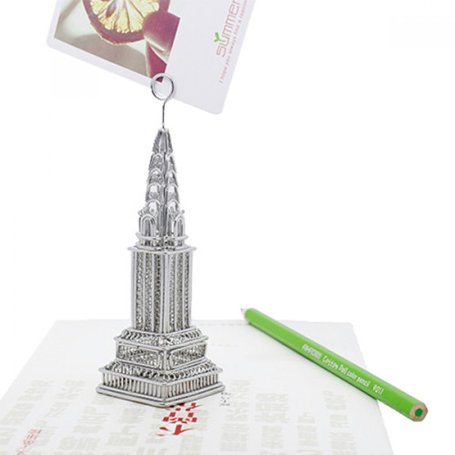 Chrysler Building Metal Photo and Memo Clip