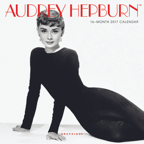 2017 Audrey Hepburn Mini Calendar, Wall Calendar