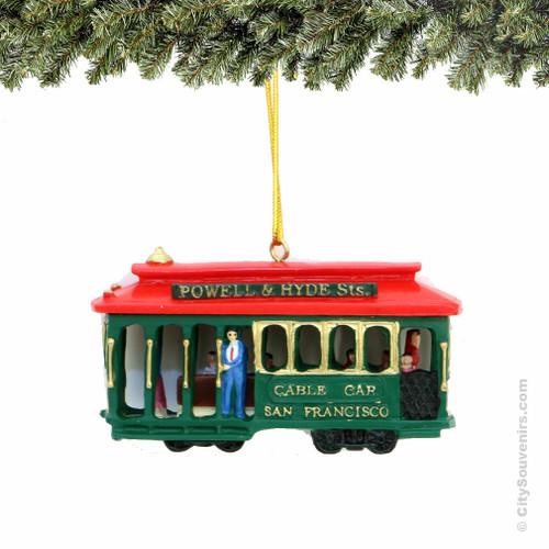 San Francisco Trolley Ornament