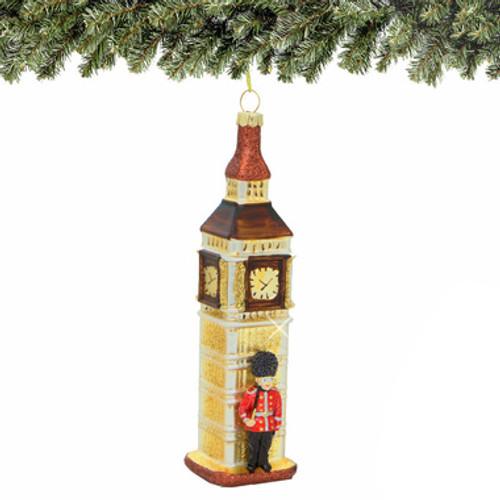 Big Ben & Royal Guard Glass Ornament