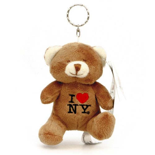 I Love NY Key Chain Teddy Bear