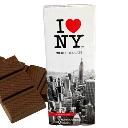 I Love NY Chocolate Bars - Milk Chocolate