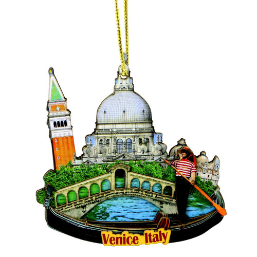 3D Venice Christmas Ornament