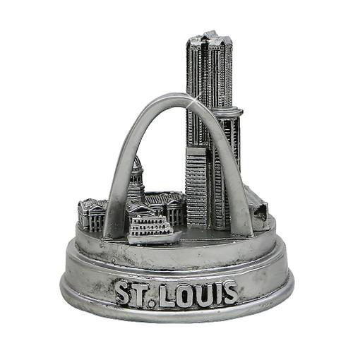 St. Louis, Missouri Silver Statue